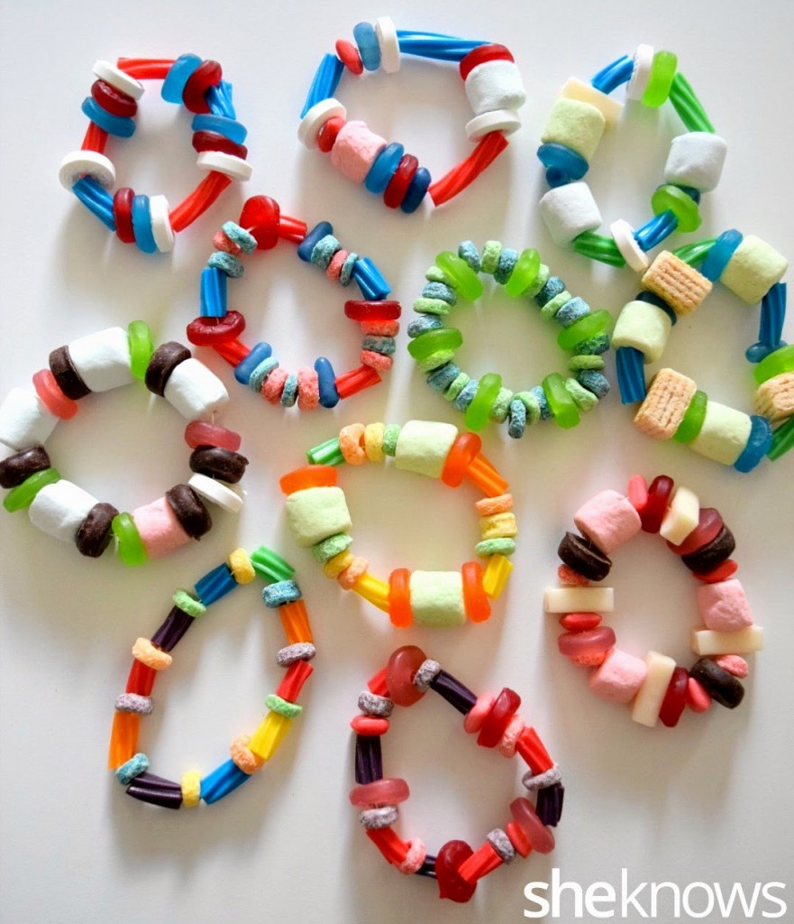 Homemade Candy Bracelets