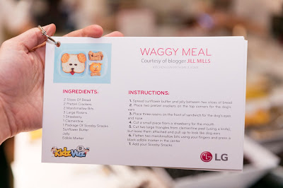 Puppy Dog Bento Lunch with LG Electronics!
