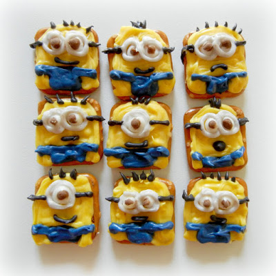 Minion Pretzel Snacks