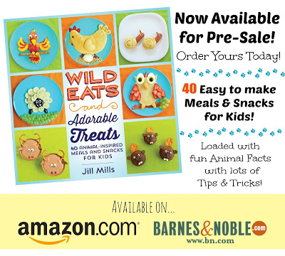 """""""Wild Eats & Adorable Treats"""" cookbook up for Pre-Sale today on Amazon.com!"""