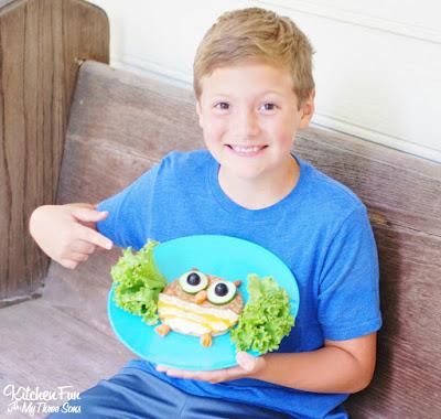 Kids Healthy Owl Lunch