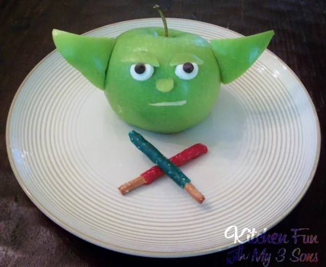 Star Wars Yoda Apple Fruit Snack