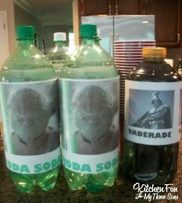 Star Wars Yoda Soda & Darth Vaderade