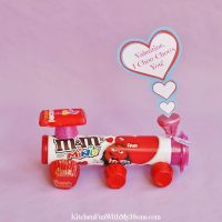 Valentine's Day Candy Train with a Free Printable!