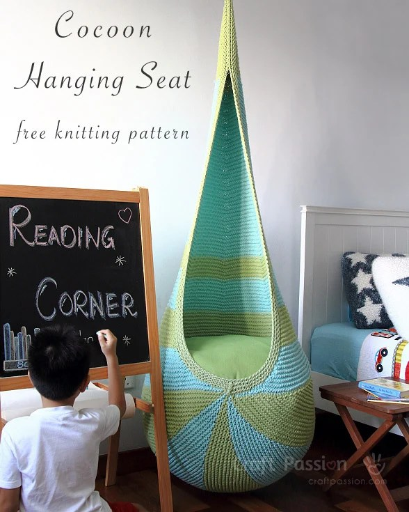 Cocoon Hanging Seat Knitted Pattern