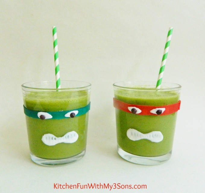 TMNT Green Smoothies