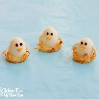 Baby Bird Eggs in Hash Brown Nests