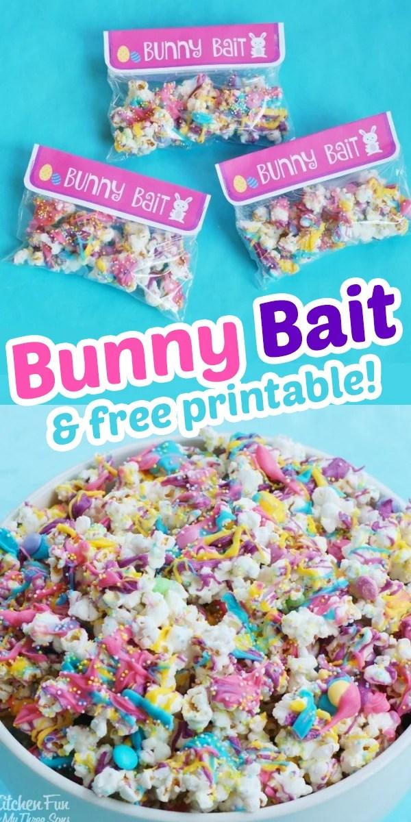 Bunny Bait Funfetti Popcorn