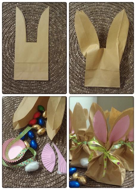 Paper Bag Bunny Treat Bags