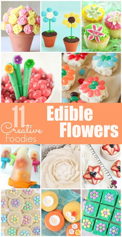 Edible Flowers for Spring!