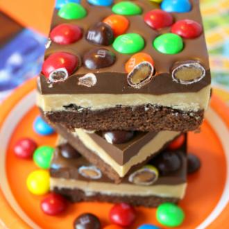 Peanut Butter Brownie Bars