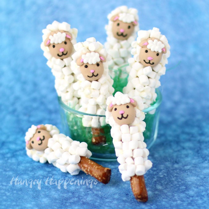 Sheep pretzels