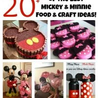 Over 20 of the BEST Mickey & Minnie Mouse Party Food & Crafty Ideas!