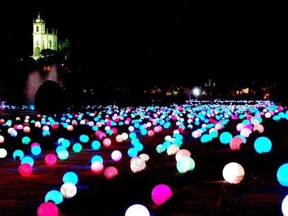 Put Glow Sticks in Balloons for a fun Nighttime Summer Party!