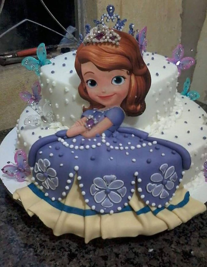 Sofia the First Birthday Cake...these are the BEST Cake Ideas!
