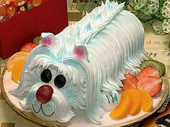Dog Cake...these are the BEST Cake Ideas!