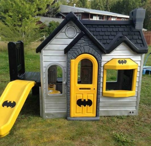 Playhouse Batman Batcave