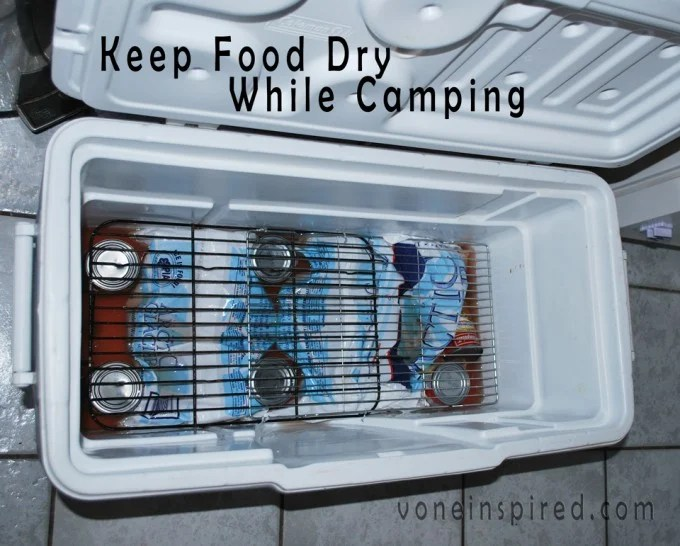 Keep Food Dry while Camping...these are the BEST Camping Ideas, Gear, Tips, & Tricks!