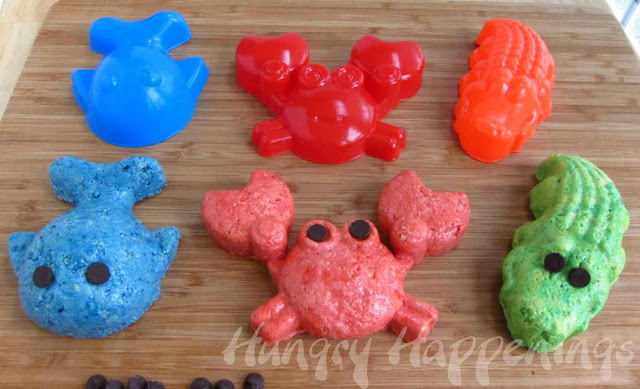 Sea Life Rice Krispie Treats