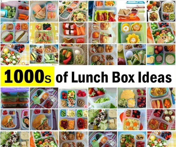 1,000's of Lunchbox Ideas....these are the BEST Back to School Lunch Ideas!