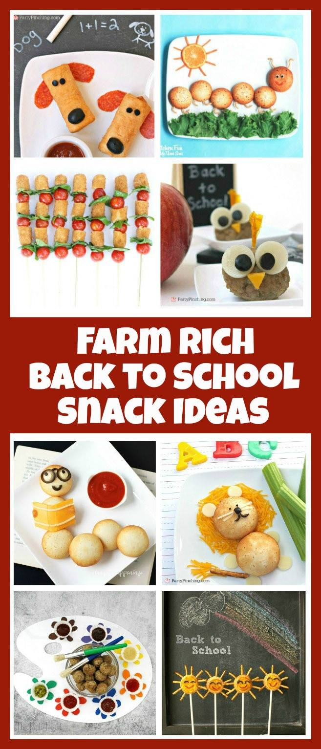 Caterpillar Snack....these are Adorable Back to School Snack Ideas for Kids!