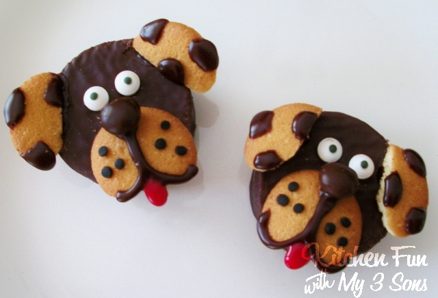 Ding Dong Dog Snack Cakes...a fun & easy treat for the Kids!