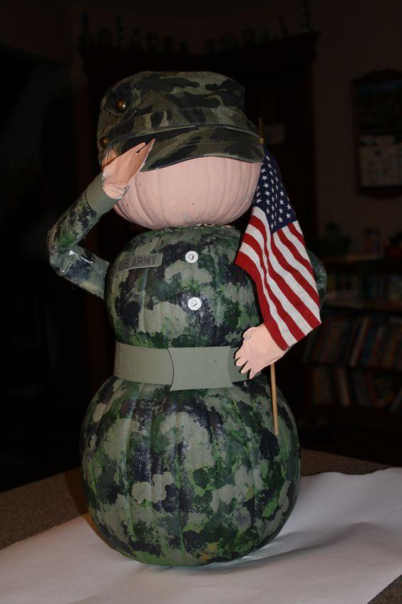 Soldier Pumpkins