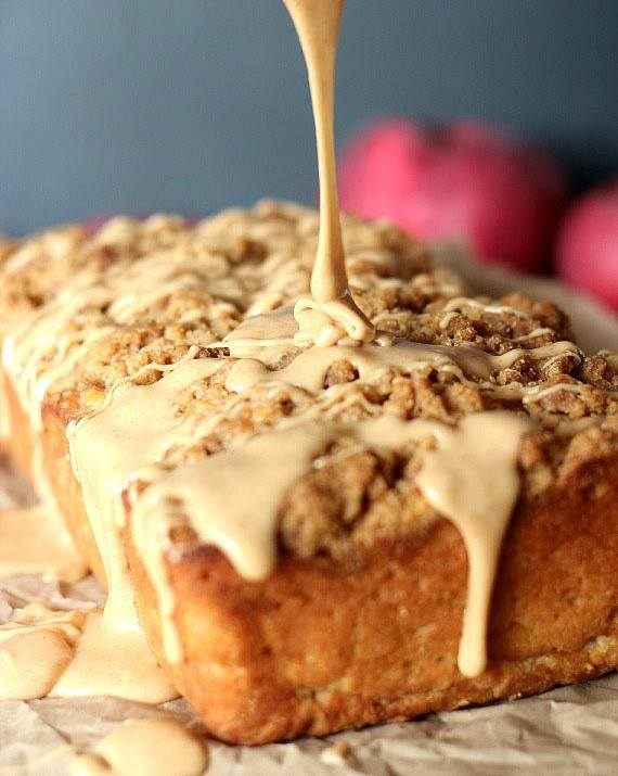 Apple Pie Bread...these are the BEST Fall Dessert Recipes!