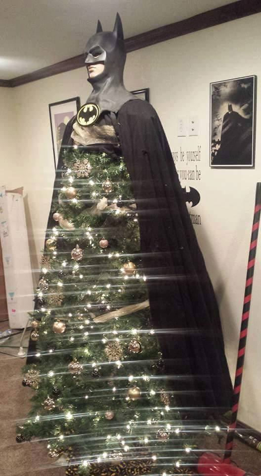 Christmas Batman Tree