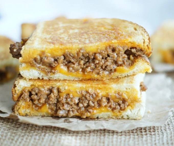 Sloppy Grilled Cheese Sandwich...these are the BEST Comfort Food Recipes!