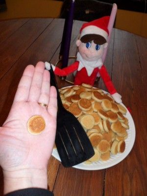 Mini Elf Pancake Breakfast