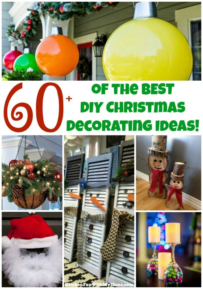 Over 60 of the BEST Christmas Decorations!