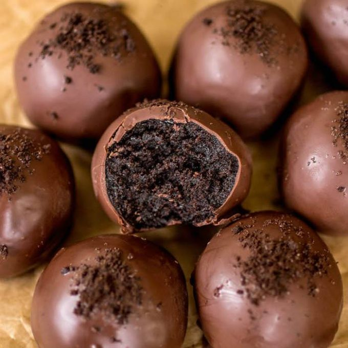 Chocolate Oreo Truffles...these are the BEST Christmas Treats!