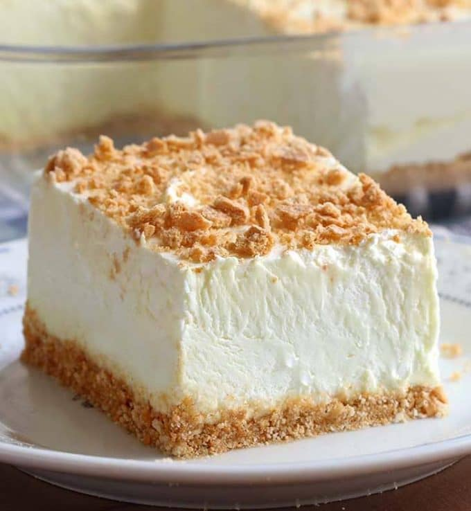 No-Bake Woolworth Cheesecake