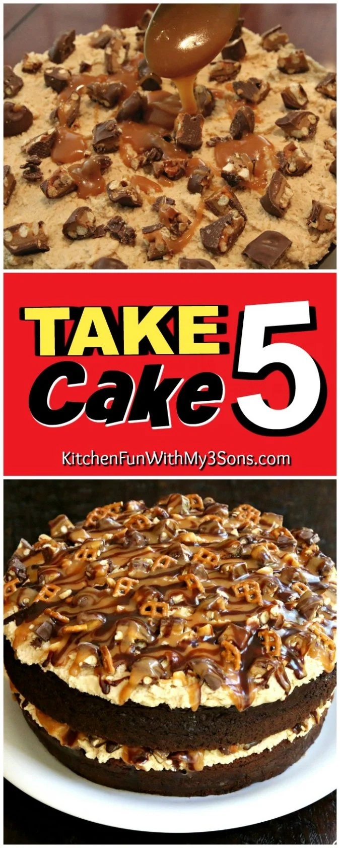Take 5 Cake...these are the BEST Cake Recipes!