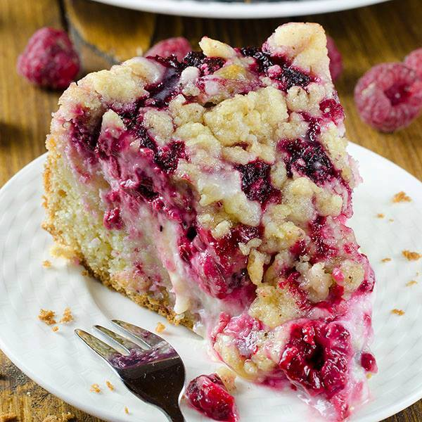 Raspberry Cream Cheese Coffee Cake...these are the BEST Cake Recipes!