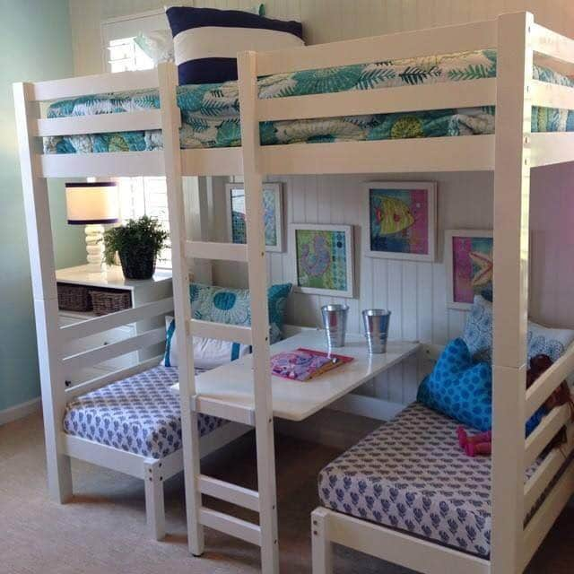 Bunk Bed with Table