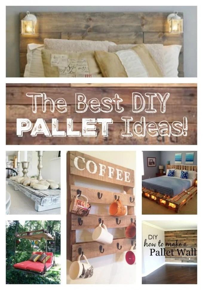 The BEST DIY Pallet Ideas!