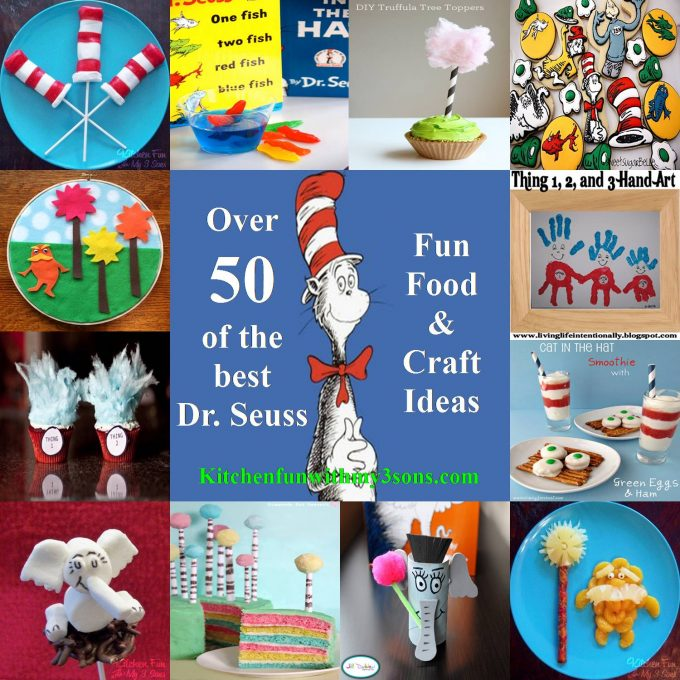 Over 50 Dr. Seuss Food and Craft Ideas