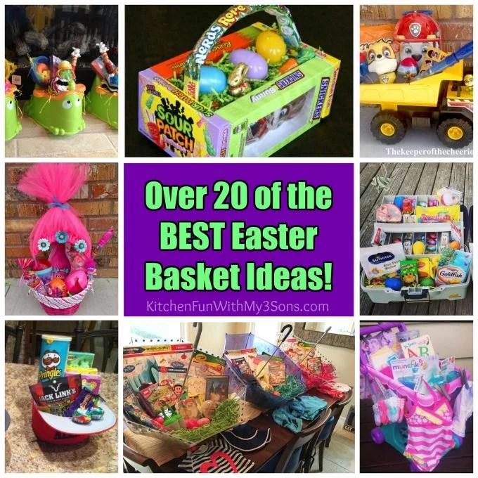 Over 20 of the BEST Easter Egg Basket Ideas!