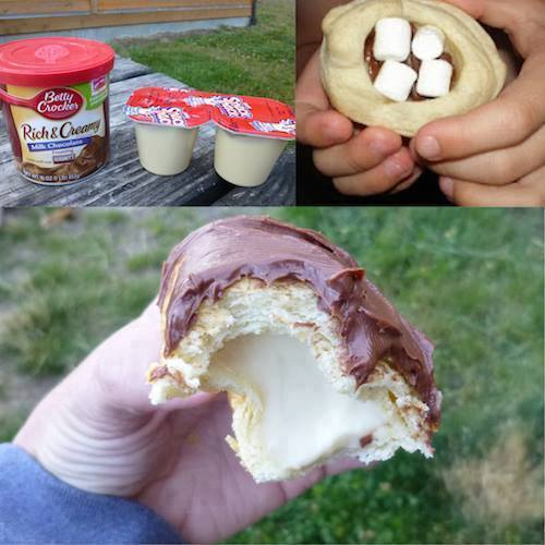 Campfire Eclairs...these are the BEST Camping Recipes!
