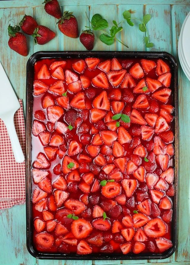 Strawberry Slab Pie Recipe