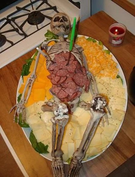 Skeleton Meat Tray