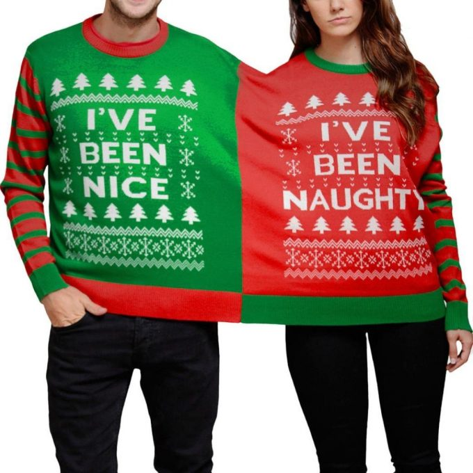 Ugly Christmas Sweaters for Couples!