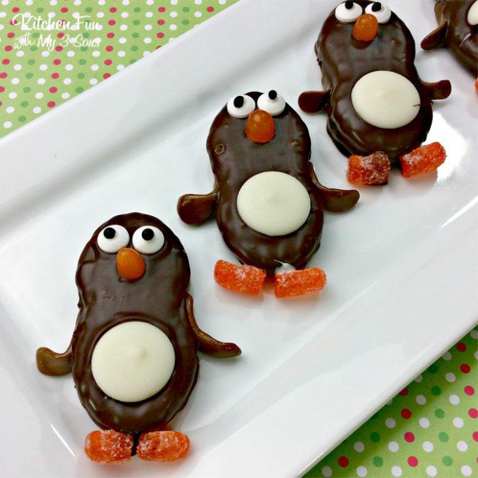 Penguin Nutter Butter Cookies