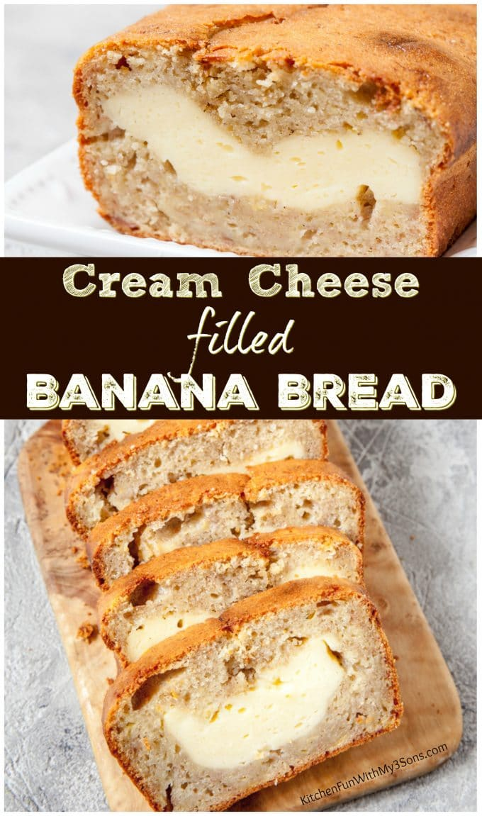 Cream Cheese Banana Bread