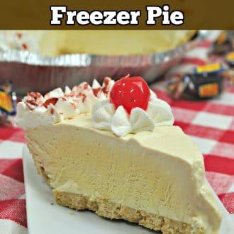 Rootbeer Float Freezer Pie