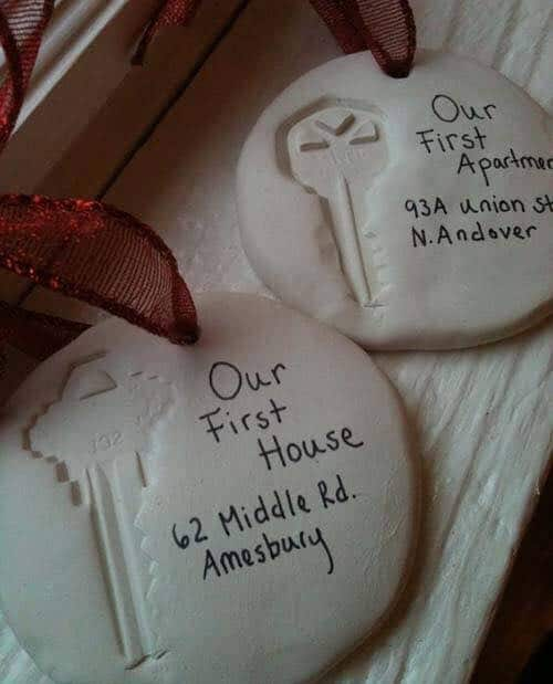 Our First House Keepsake Ornaments - Over 30 of the BEST Christmas Salt Dough Ornaments