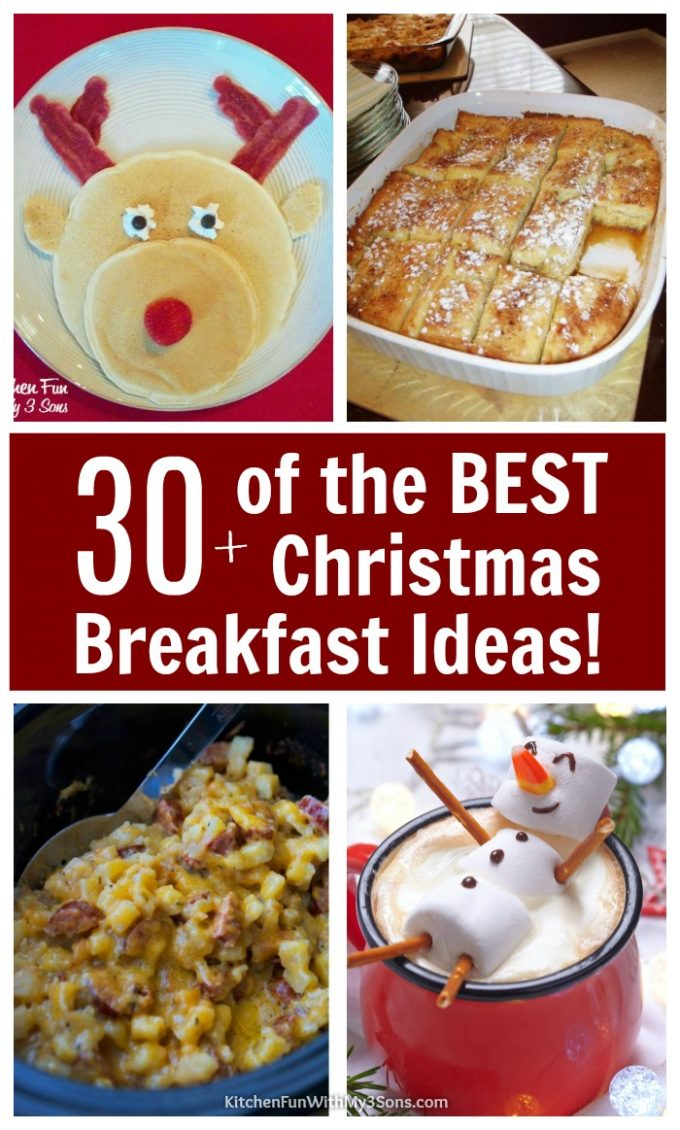 Over 30 of the BEST Christmas Breakfast Recipes