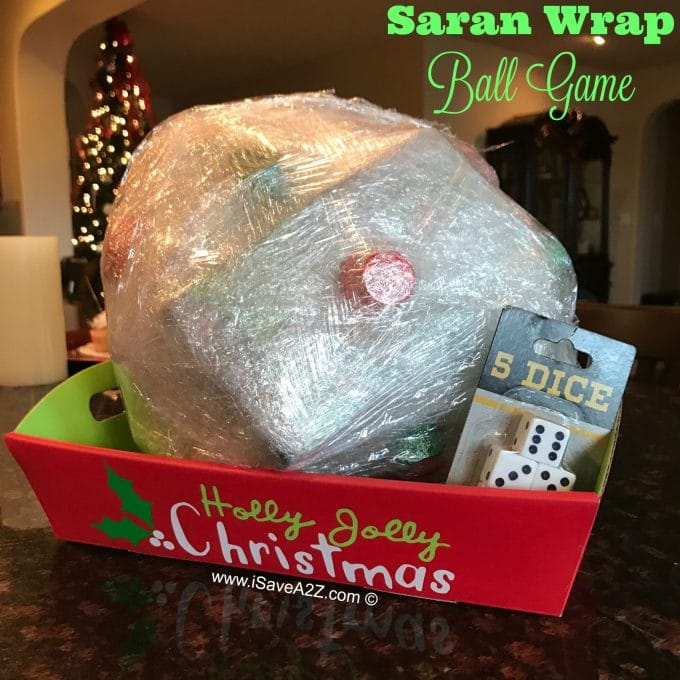 Saran Wrap Ball Game - The BEST Holiday Party Games